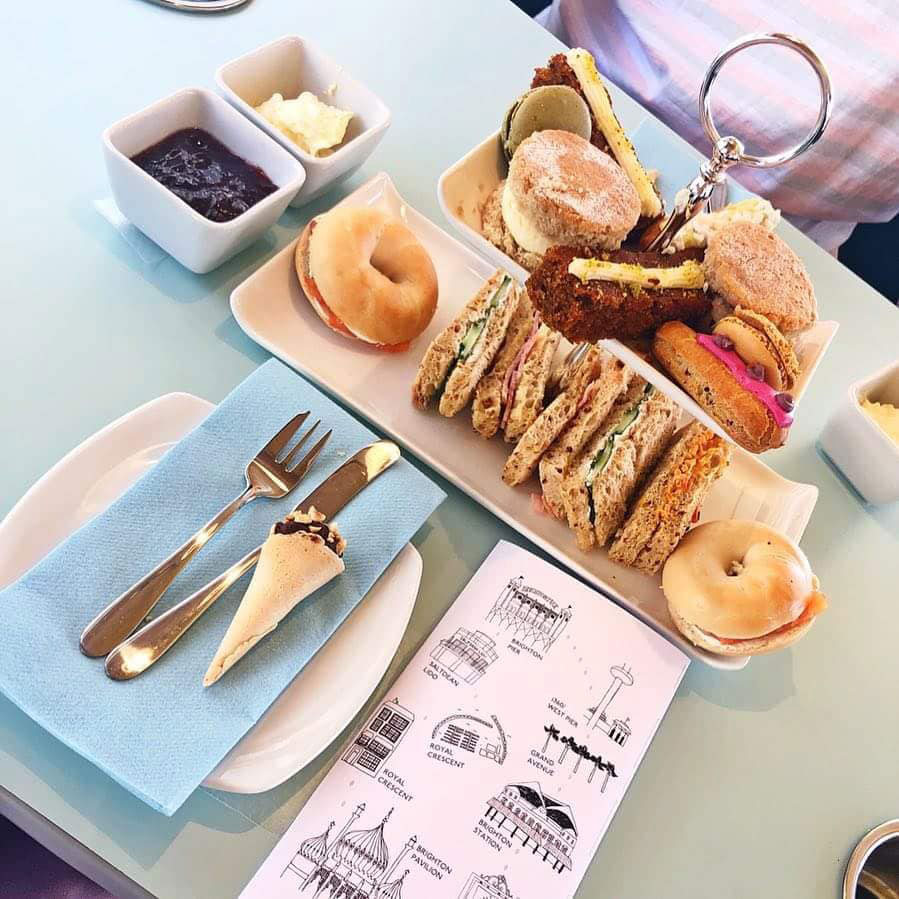Join our exclusive afternoon tea service on Sussex's iconic Route 3