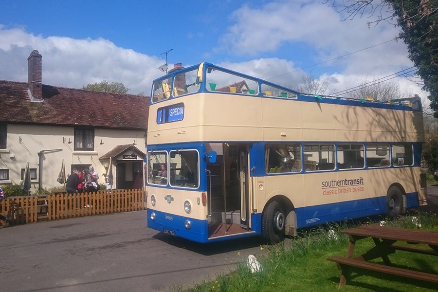 Fleet Image - Leyland Open Top