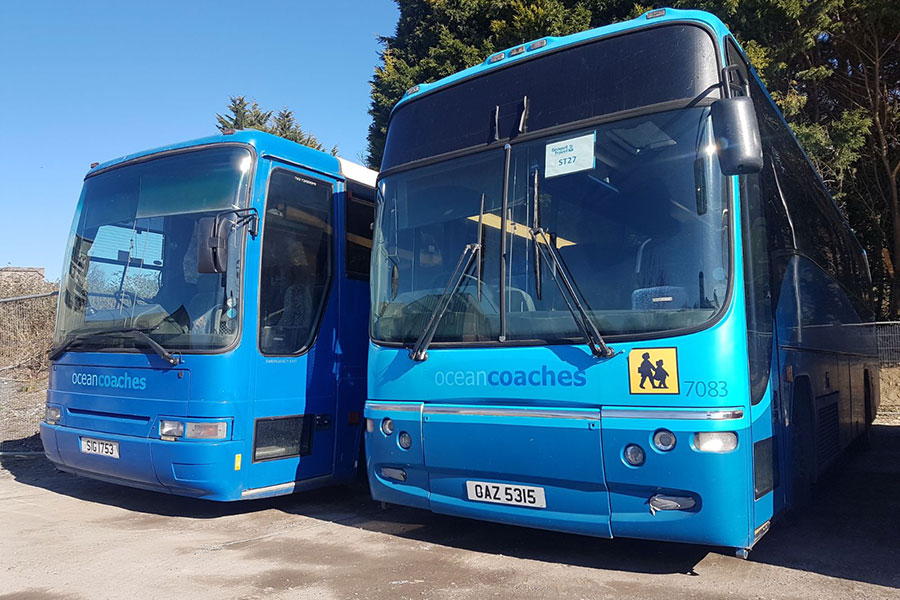 Vehicle Hire - Ocean Coaches